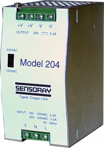 Model 204 24 V 120 Watt Power Supply