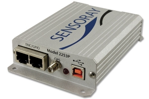 Model 2253P A/V MPEG-4,MJPEG,H.264 Codec with GPS and Incremental Encoder Interfaces