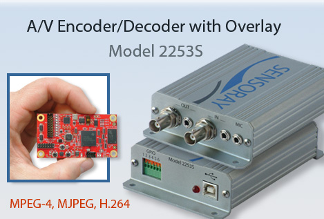 Encoder/Decoder with Overlay