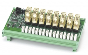 Model 2650 8-Channel Relay Module with RH1B-U Relays
