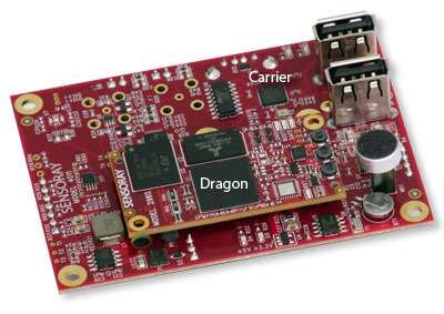 Interior view of Model 4011, a Dragon-based, embeddable DVR